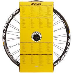 """SET MTB-WIELEN 27.5"""" MAVIC CROSSRIDE SCHIJF 9X135 9X100 15X100 MM"""