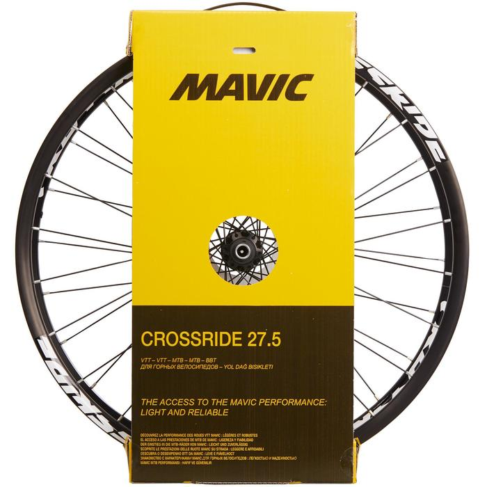 MTB Räder 27.5Zoll Mavic Crossride Scheibe Paar