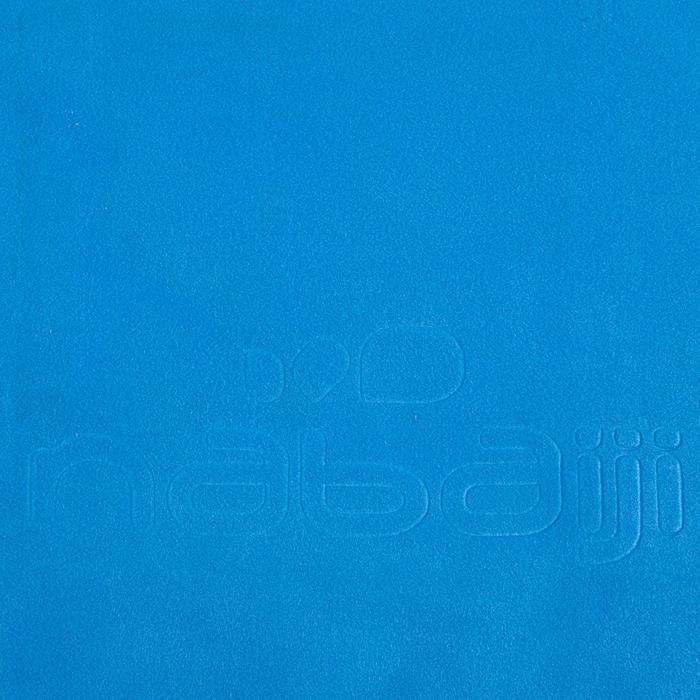 Serviette microfibre bleu cina ultra compacte taille L 80 x 130 cm - 156981