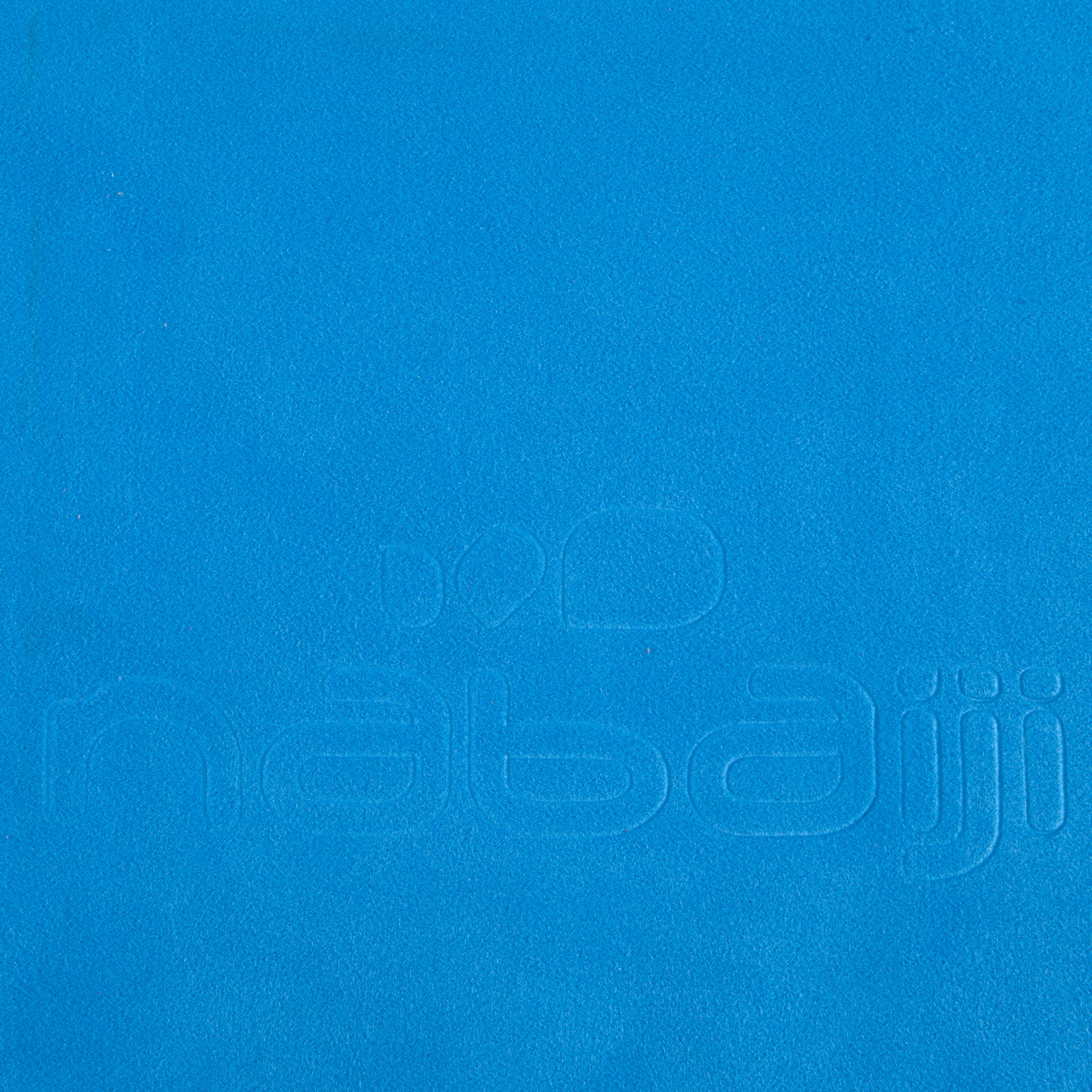 Ultra compact microfibre towel size L 80 x 130 cm - China Blue