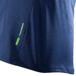 MTB-shirt All Mountain Lange Mouwen Blauw
