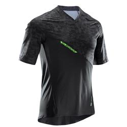 MTB-shirt voor All Mountain korte mouwen AM zwart