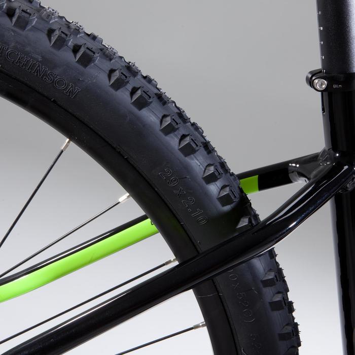 "Mountainbike XC 100 MTB 27,5"" schwarz/neon"