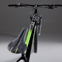 """Vélo VTT XC 100 27,5"""" EAGLE noir et fluo"""