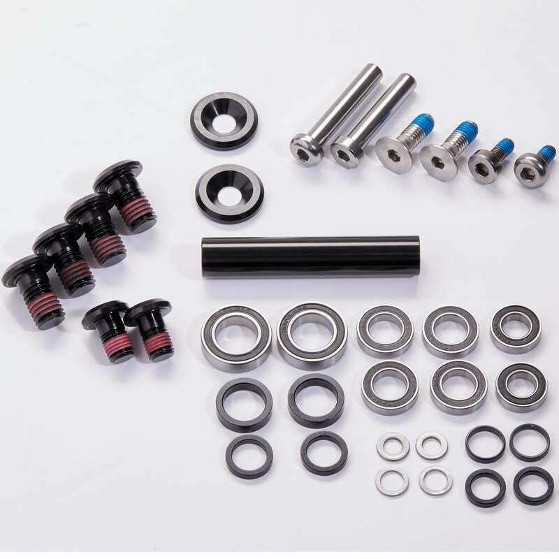 SUSPENSION MTB Cycling - Pivot Axle + Bearings Kit ROCKRIDER - Bike Parts