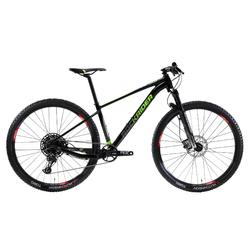 "Cross country mountainbike XC 100 29"" 12S zwart/fluo"