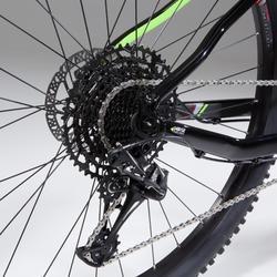 "Mountainbike XC 100 MTB 29"" schwarz/neon"