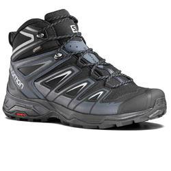 Botas impermeáveis de caminhada na montanha - Salomon X ULTRA3 GTX Mid - Homem