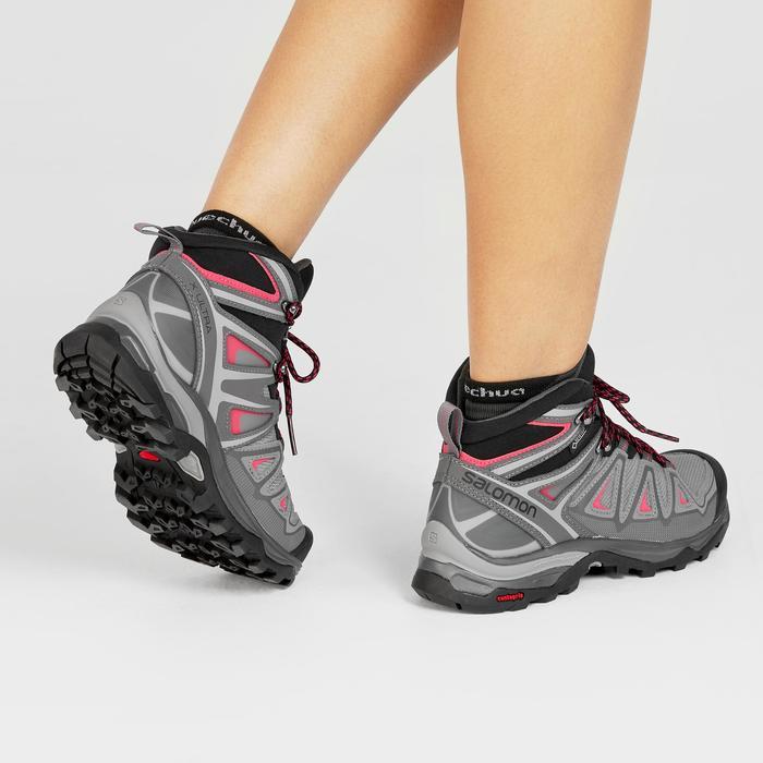 Chaussures imperméables de randonnée montagne - SALOMON XULTRA 3 MID GTX - Femme