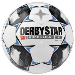 Fußball Magic Light Gr. 5 weiß/blau
