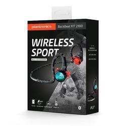 Auriculares Deportivos Bluetooth Running Plantronics Backbeat Fit 2100 Negro