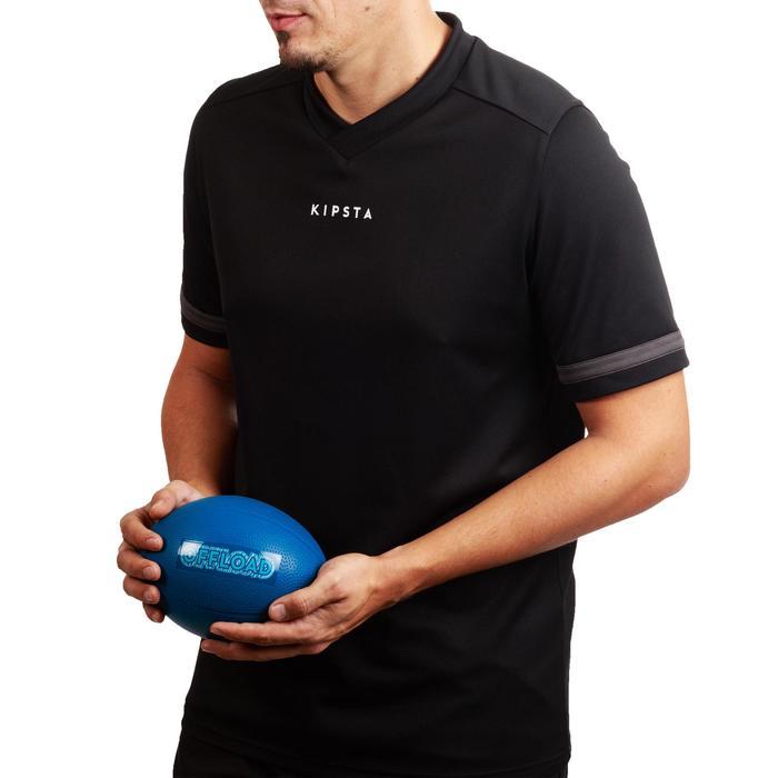 Mini Ballon Rugby Resist Bleu