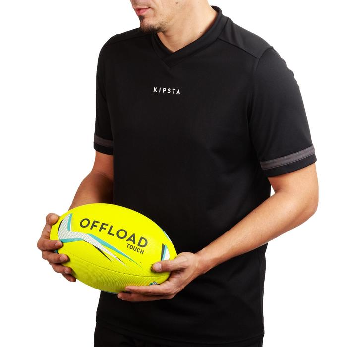 Ballon rugby Touch 500 jaune