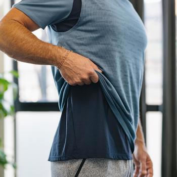 T-Shirt 540 Free Move Pilates Gym douce homme bleu marine