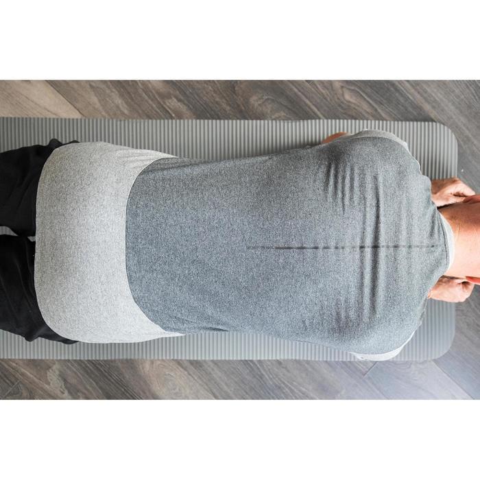 560 Pilates & Gentle Gym T-Shirt - Light Grey