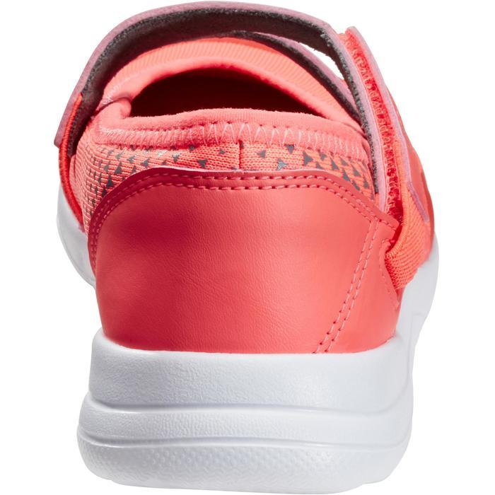 Meisjes ballerina's voor wandelen PW 160 Br'easy koraal