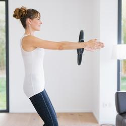 Débardeur 560 Pilates Gym douce femme beige chiné