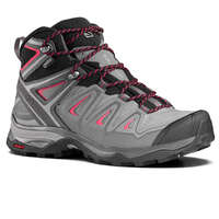 Decathlon Salomon X Ultra 3 Mid Gtx Womens Waterproof Walking Boots - Black