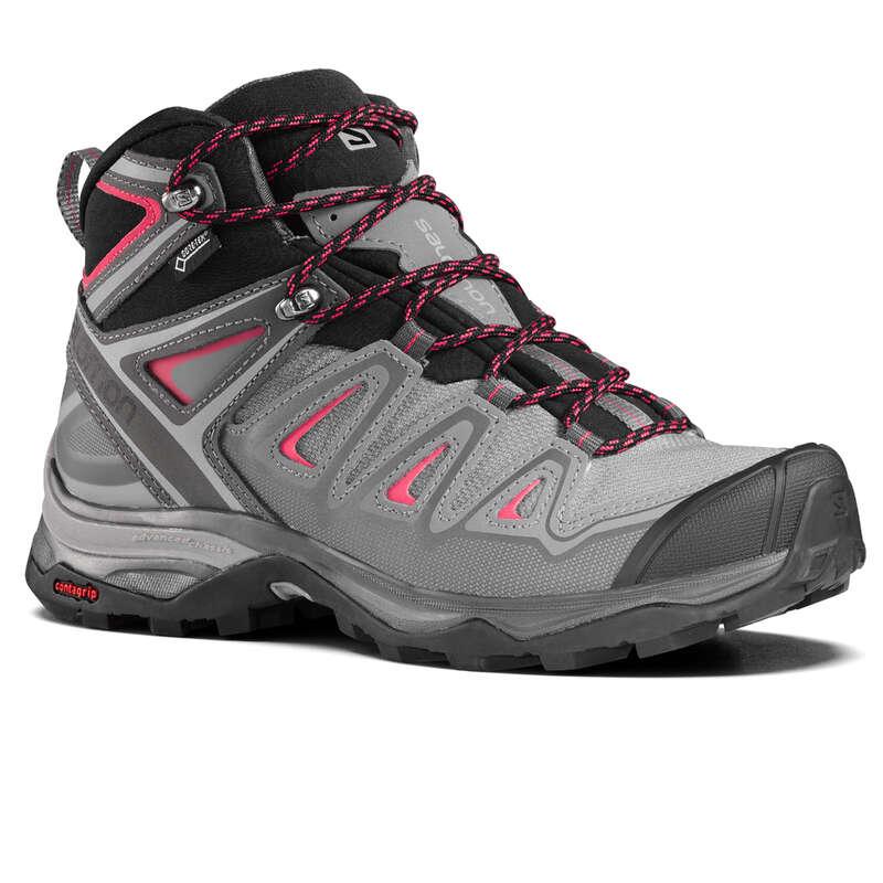 SCARPE MONTAGNA DONNA Sport di Montagna - Scarpe donna XULTRA 3 MID GTX  SALOMON - Scarpe e accessori trekking