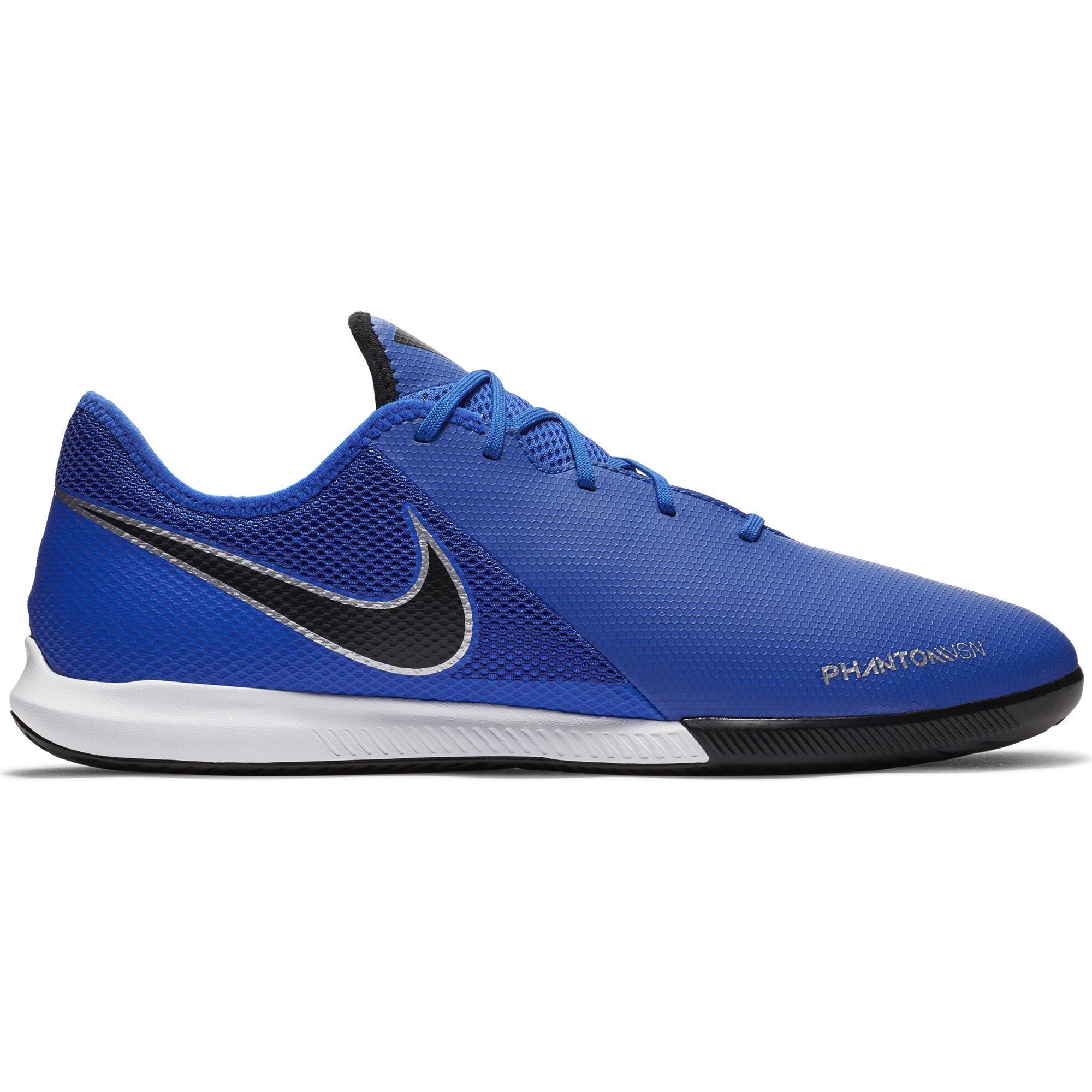 Nike Zaalvoetbalschoenen Phantom Vision Academy Dynamic Fit IC blauw
