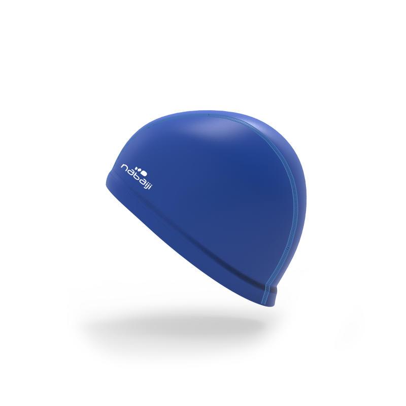 SWIM CAP SILICONE MESH Size large - BLUE