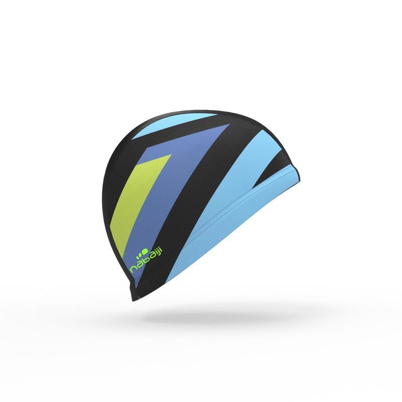 Mesh Print Swimming Cap Size L - Cros Green