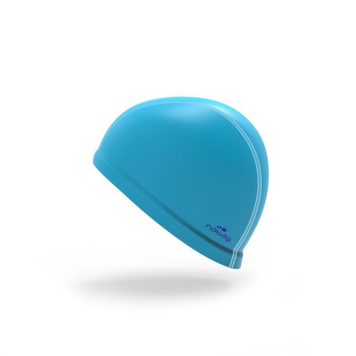 矽膠網眼泳帽500 - 水藍色