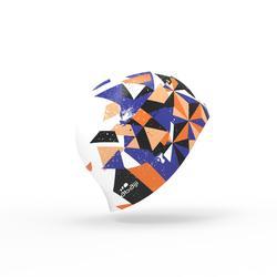 矽膠印花泳帽500橘色
