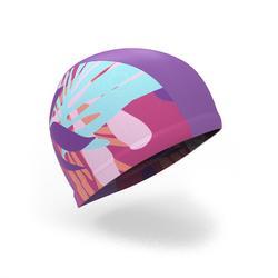 Gorro de natación punto estampado talla L Pie rosa 656bb5aaf9f