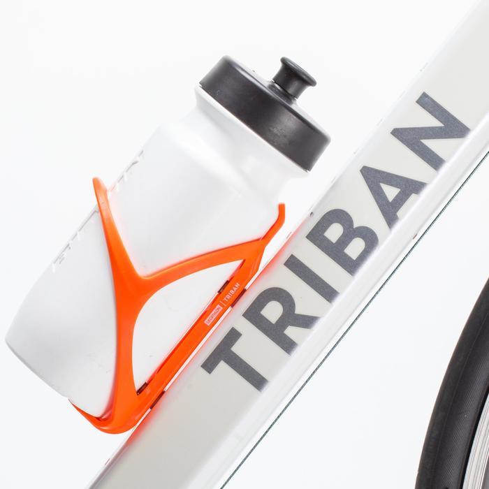 Fahrrad-Flaschenhalter 500 neonorange