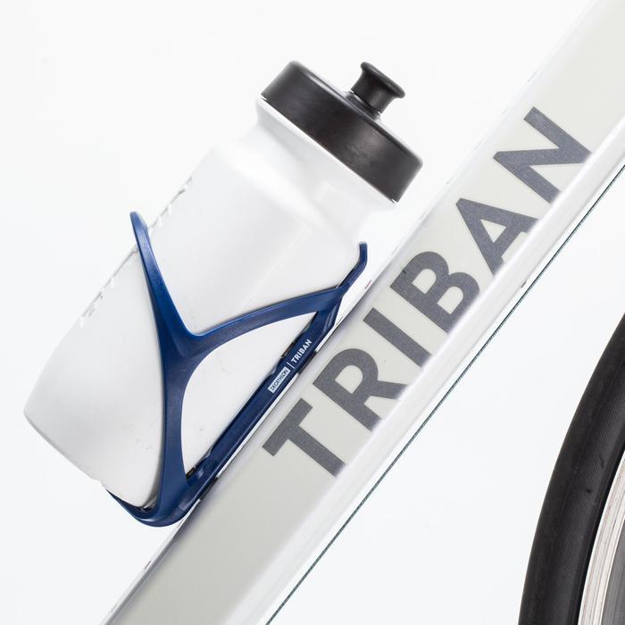 Portabidón Bicicleta Triban 500 Azul Ultramar Plástico