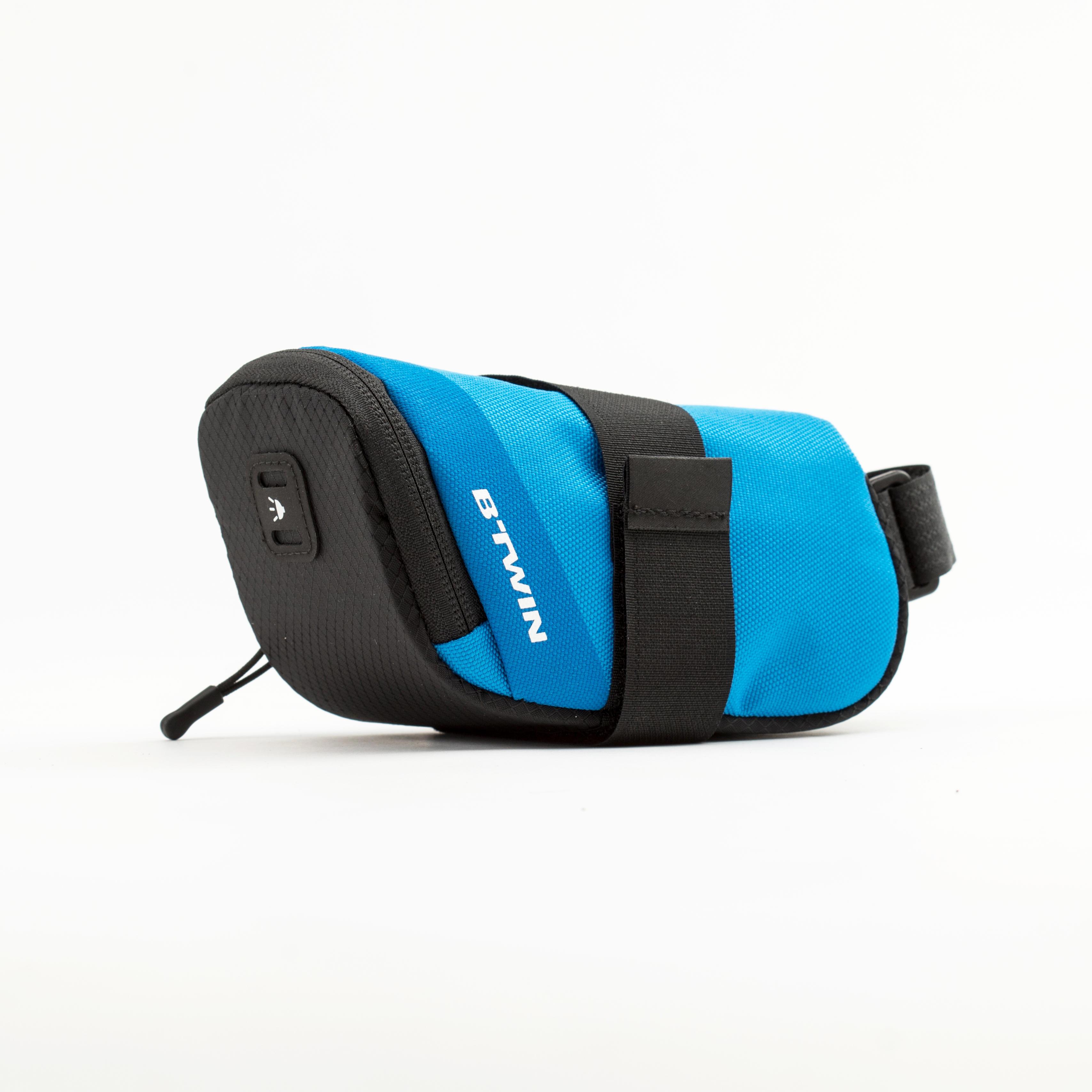 B'twin Zadeltasje 500 M 0,6 liter oceaanblauw kopen? Leest dit eerst: Fietsaccessoires Fietsmanden en fietstassen/Fietstassen met korting