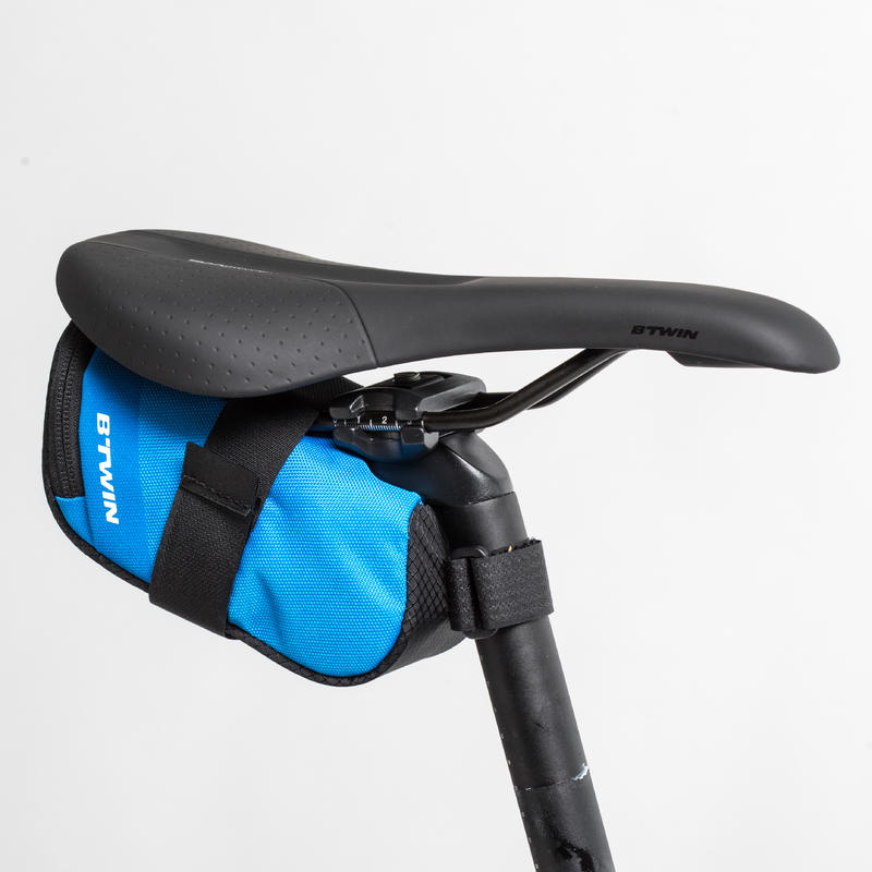 500 Bike Saddle Bag M 0.6L - Blue