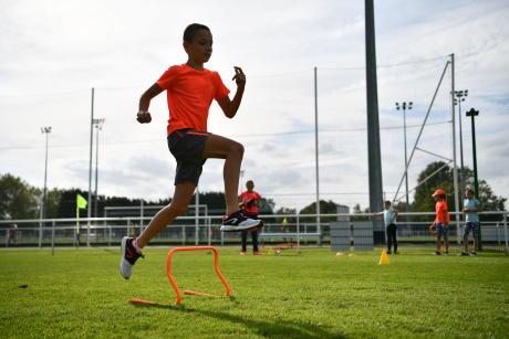 athlétisme enfant