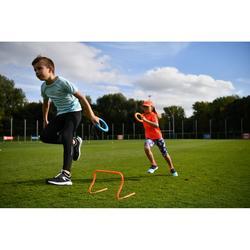 Hardloopschoenen kinderen Run Support Easy zwart grijs