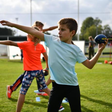 athletisme jeu enfants
