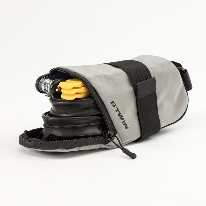 Satteltasche 500 0,6 l reflektierend