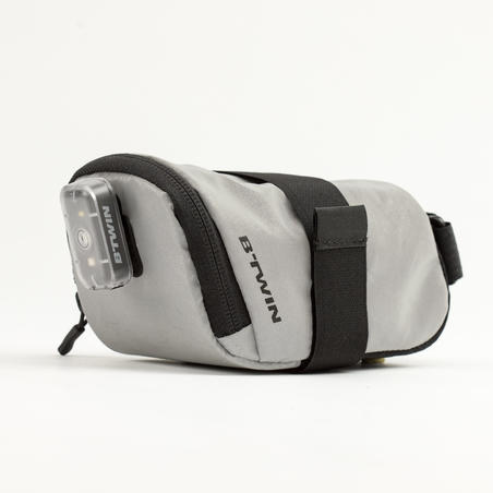 500 Reflective Saddle Bag 0.6 L