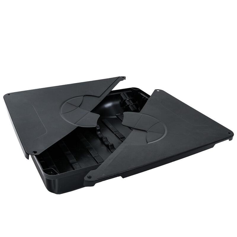 Base negra para canasta de baloncesto B100 Pro
