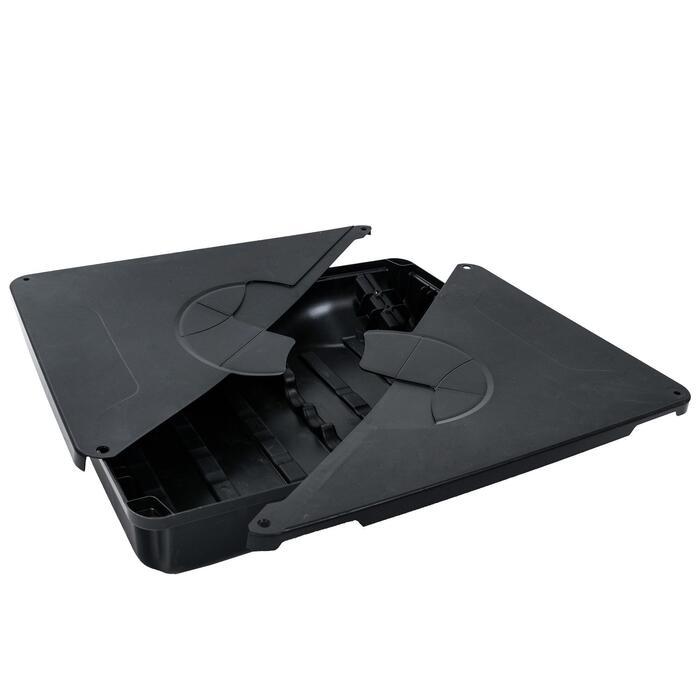 Base noire pour panier de basket B100 Pro