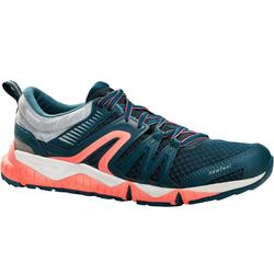 Damessneakers voor sportief wandelen PW 900 Propulse Motion grijs