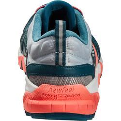 Damessneakers voor sportief wandelen PW 900 Propulse Motion grijsblauw