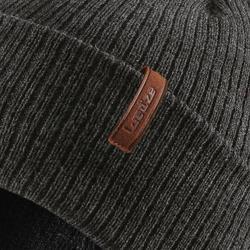 成人滑雪帽Fisherman - 灰色