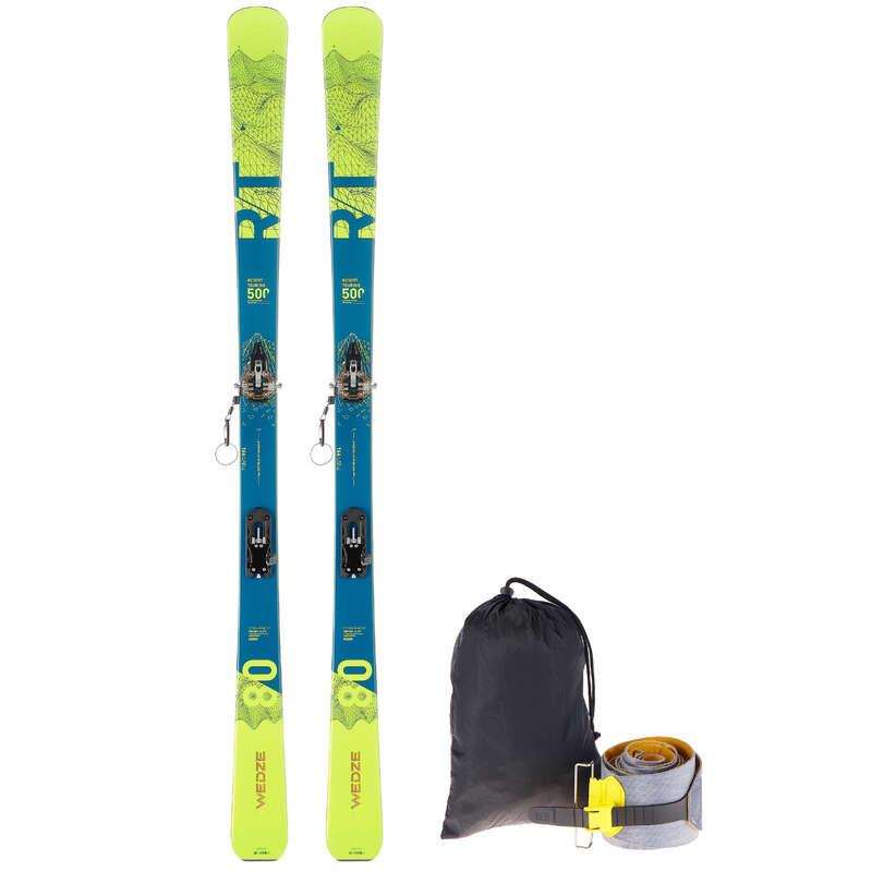 SKI TOURING Schi si Snowboard - Set Schi RT 500 WED'ZE - Schiuri, clapari, bete