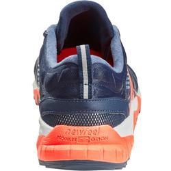 Zapatillas de Marcha Deportiva Newfeel PW 900 Propulse Motion hombre azul/rosa