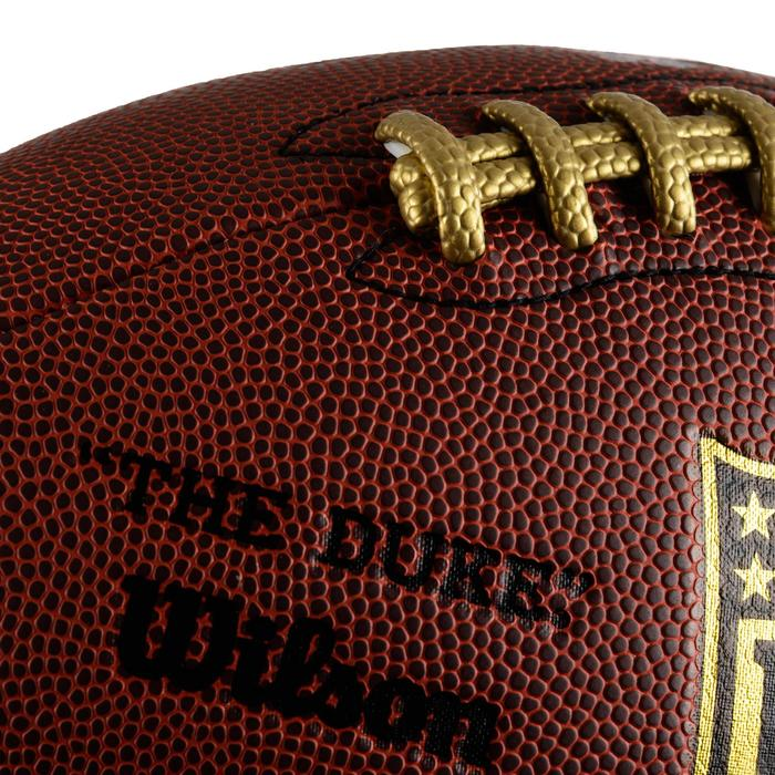 Ballon de football américain NFL Duke Performance pour adulte marron