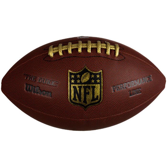 Bal American football NFL Duke Performance voor volwassenen bruin