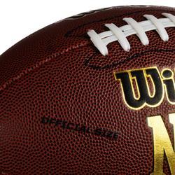 Bal American football officiële maat NFL Force voor volwassenen bruin