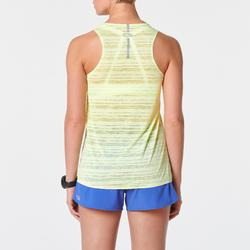 Lauftop Kiprun Light Damen gelb
