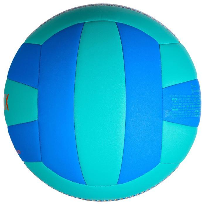 Ballon de volley-ball V100 bleu et vert